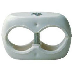 Assklemme - Kunststoff/ Leichtmetall/ Stahl, verzinkt