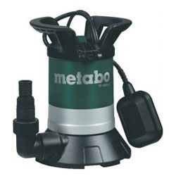 "Clear water submersible pump ""TP 8000 S"" - 350 Watt - METABO®"