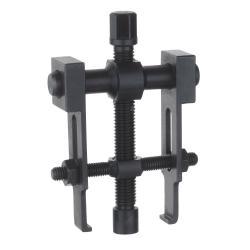 KRALLEX SLIM-Abzieher - mit integriertem Haken-Spanner - 2-armig - Spannweite 0 - 50 mm