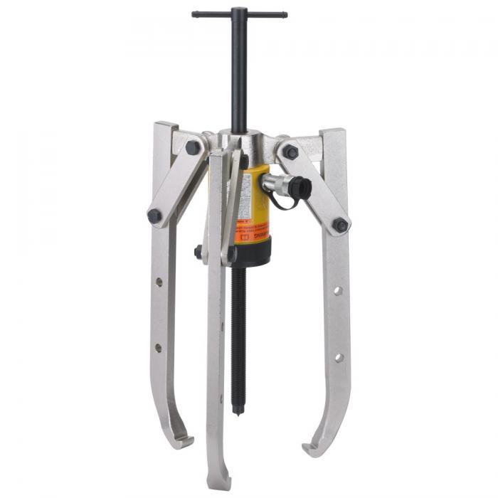 Hydraulischer Abzieher -  3-armig, höhenverstellbar - max. Druckkraft 20 t