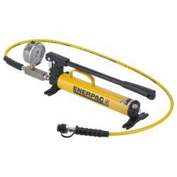 Pompa idraulica in acciaio a mano - singola - max. Pressione di esercizio 700 bar