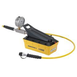 Air-hydraulic pump - with pressure relief valve - max. 700 bar - 1.8 m hose