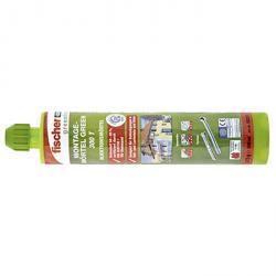 Montagemörtel 300 T GREEN - 300 ml - 1 Kartusche - 2 Statikmischer