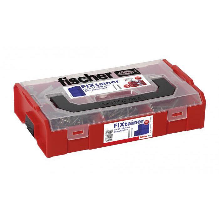 SX pudełka wtyczkę FISCHER - content 210 części - SX Kołek uniwersalny z lub bez śrub