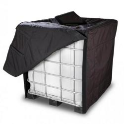Insulating hood - for IBC with standard size 1000 l - water repellent and chemical resistant