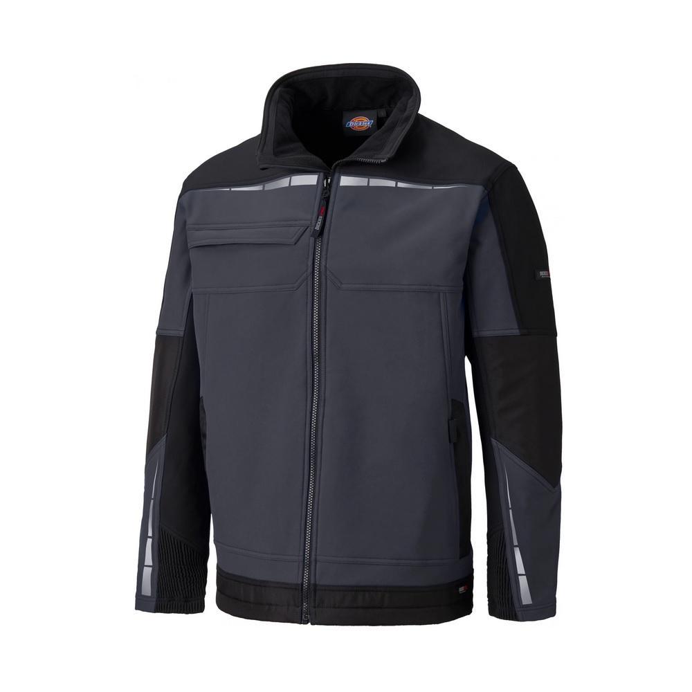 Softshell jacka Pro - Dickies - storlekar S till XXXL - grå / svart