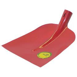 Holsteiner Schaufel - Stahl gehärtet - Blattgröße 2 - Rot lackiert - mit Stiel