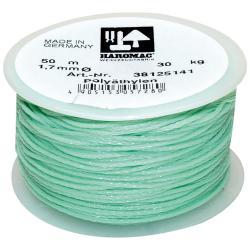 Maurerschnur auf Kunststoffabroller - Polyethylen - Länge 50 m - Stärke 1,7 mm  - Grün