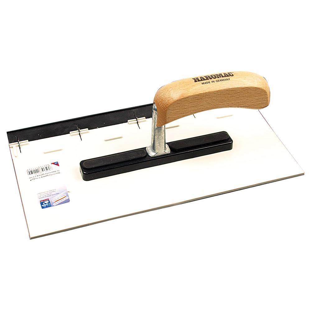 Beschichtungskelle - Kunststoff flexibel - Blattbreite 280 mm - Holzgriff
