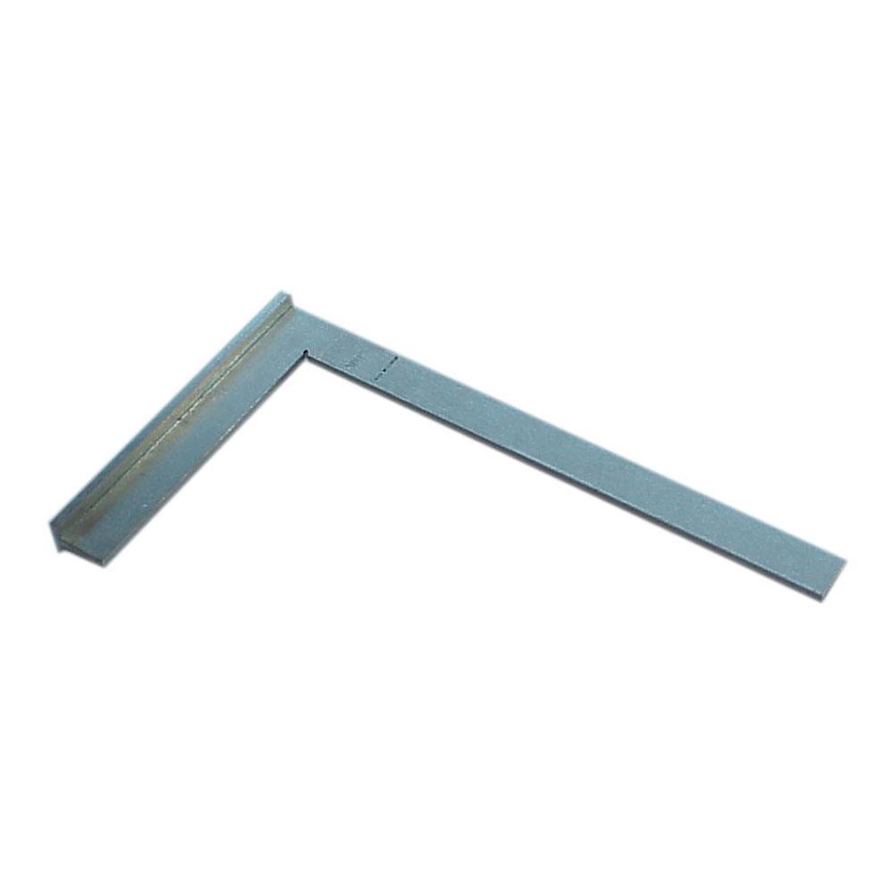 Anschlagwinkel - Stahl verzinkt - Länge 300 mm und 400 mm - Breite 180 mm und 230 mm - Winkel 90°