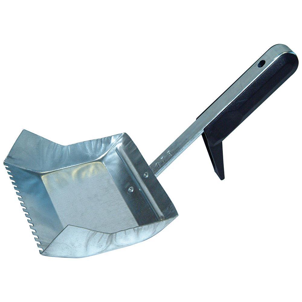 Kleberverteilkelle - Stahl verzinkt - Blattbreite 50 bis 235 mm - Kunststoffgriff