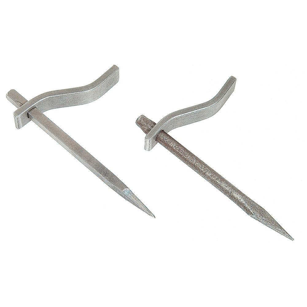 Betongkrok - smidd stål - stiftlängd 150 mm - fästlängd 100 mm