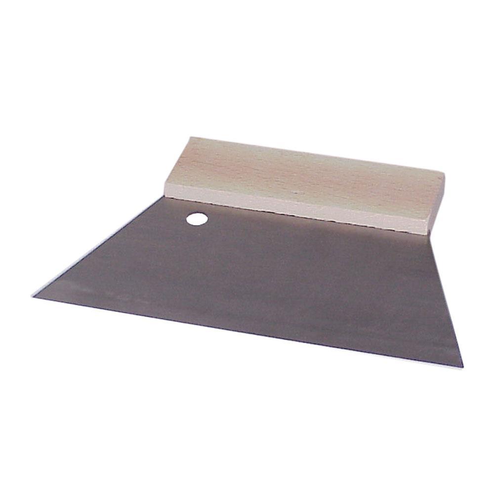 Flächenspachtel - Metallblatt - Blattbreite 160 bis 250 mm - Holzrückenleiste