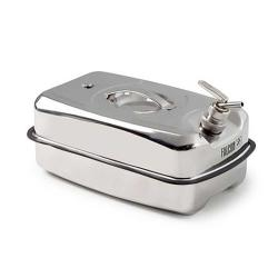 FALCON safety container - stainless steel - with fine metering tap