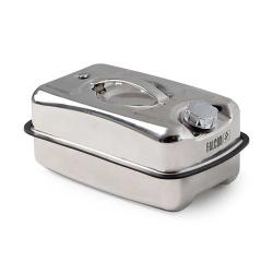 FALCON safety container - stainless steel - with screw cap - different designs