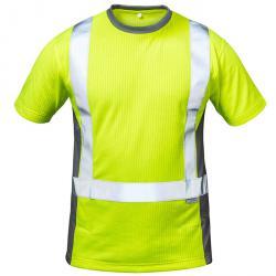 """T-shirt alta visibilità """"Amsterdam"""" - 75% poliestere, 25% cotone - taglie S-XXXL - circa 185g / m²"""