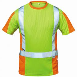 """T-shirt alta visibilità """"Utrecht"""" - 75% poliestere, 25% cotone - Taglia S-XXXL - circa 185g / m²"""