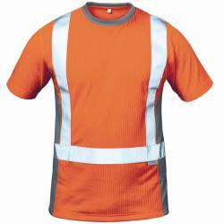 """T-shirt alta visibilità """"Rotterdam"""" - 75% poliestere, 25% cotone - taglie S-XXXL - circa 185g / m²"""
