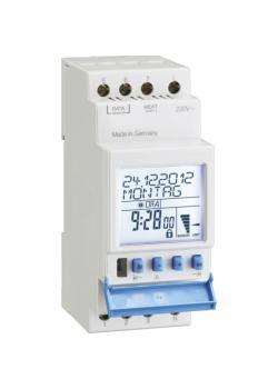 REG-Digitaler Dämmerungsschalter mit Lichtsensor - 230 V AC, 16 A - Einstellbereich 1 - 50.000 Lux