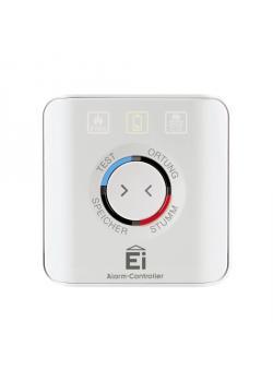 Alarm-Controller Ei450 - Maße 90 x 90 x 23 mm - Reichweite bis 150 m - Frequenz 868 MHz