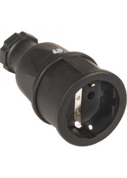 SIROX® Profi-Vollgummikupplung - Nennspannung 250 V - Nennstrom 16 A - Schutzart IP 20 - diverse Farben
