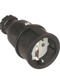 SIROX® Gummikupplung mit Polyamid-Einsatz - Nennspannung 250 V - Nennstrom 16 A - Schutzart IP 20 - diverse Farben