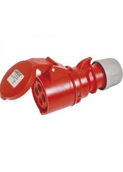 SIROX® CEE-Kupplung - 4-polig - Nennspannung 400 V - Nennstrom 16 bzw. 32 A - Schutzart IP 44