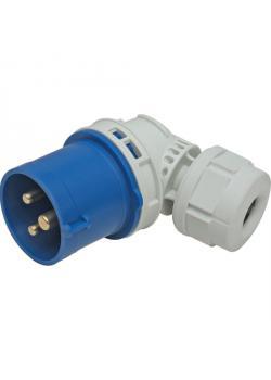 SIROX® CEE-Winkelstecker - 3-polig - Nennspannung 230 V - Nennstrom 16 A - Schutzart IP 44