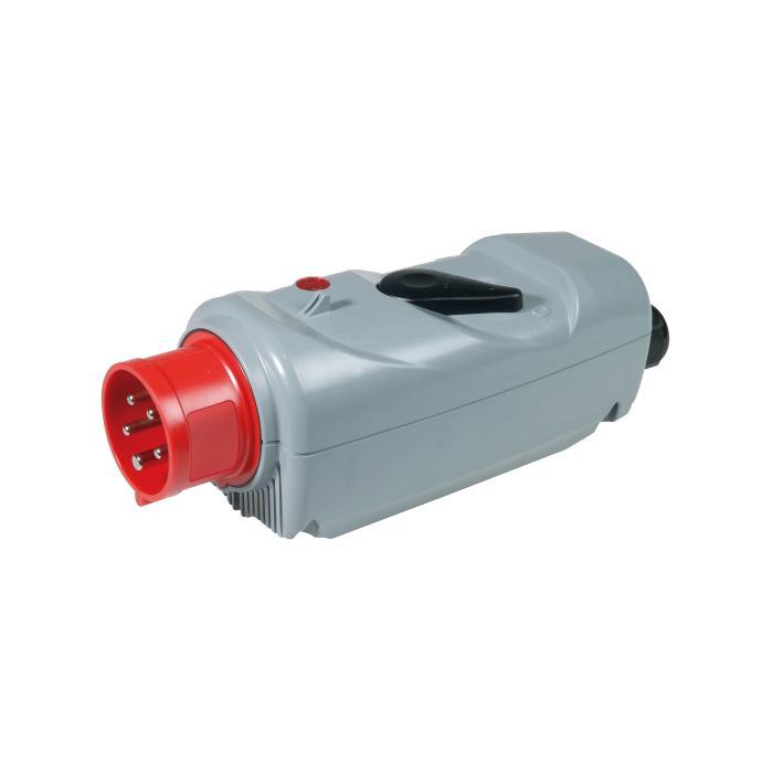 SIROX® CEE-Kraftstecker - 5-polig - mit Schalter - Nennspannung 400 V AC - Nennstrom 16 bzw. 32 A - Schutzart - IP 44