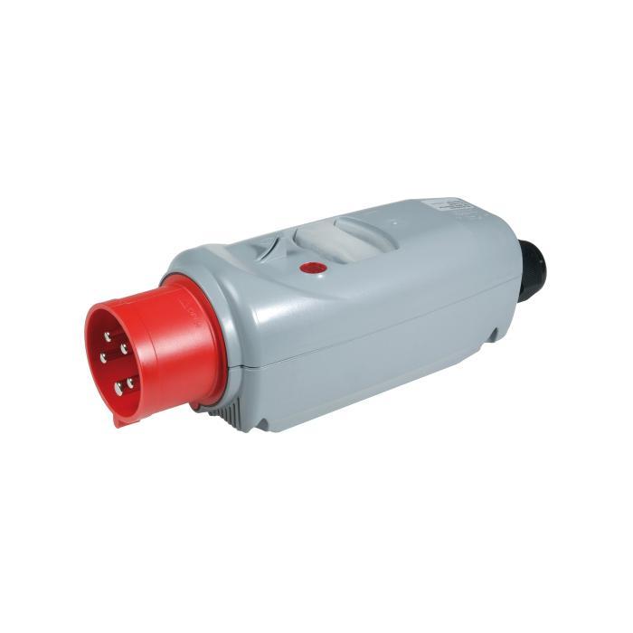 SIROX® CEE-Motorschutzstecker - 5-polig - Nennspannung - 400 V AC - Nennstrom 16 bzw. 32 A - Schutzart IP 44