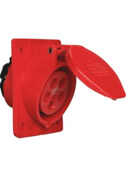 SIROX® CEE-Anbaudose - 5-polig - Nennspannung 400 V - Nennstrom 16 bzw. 32 A - Schutzart IP 44 - schräg