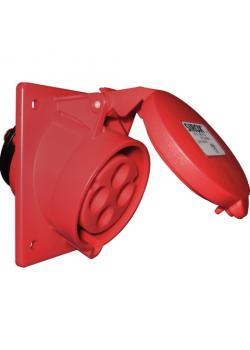 SIROX® CEE-Anbaudose - 4-polig - Nennspannung 400 V - Nennstrom 16 bzw. 32 A - Schutzart IP 44 - schräg
