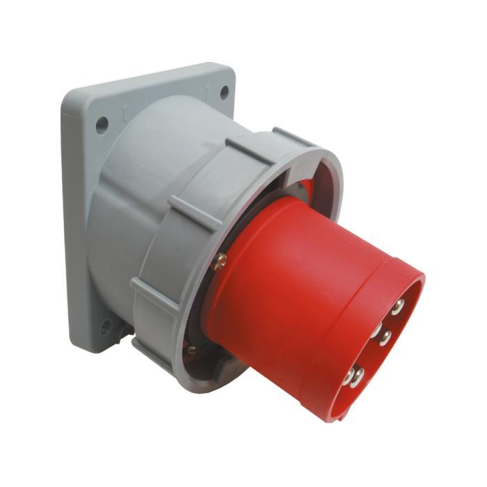 SIROX® CEE-Anbaugerätestecker - 5-polig - Wasserdicht - schräg - Nennspannung 400 V - Nennstrom 63 bzw. 125 A - Schutzart IP 67