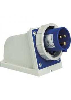 SIROX® CEE-Wandgerätestecker - 3-polig - Nennspannung 230 V - Nennstrom 16 A