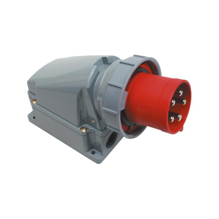 SIROX® CEE-Wandgerätestecker - 5-polig - Nennspannung 400 V - Nennstrom 63 bzw. 125 A - Schutzart IP 67