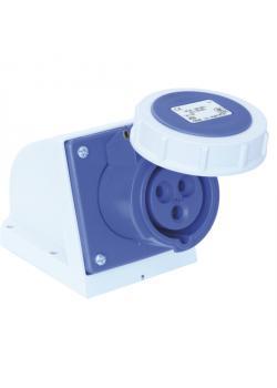 SIROX® CEE-Wanddose - 3-polig - Nennspannung 230 V - Nennstrom 16 A - Schutzart IP 67 - blau