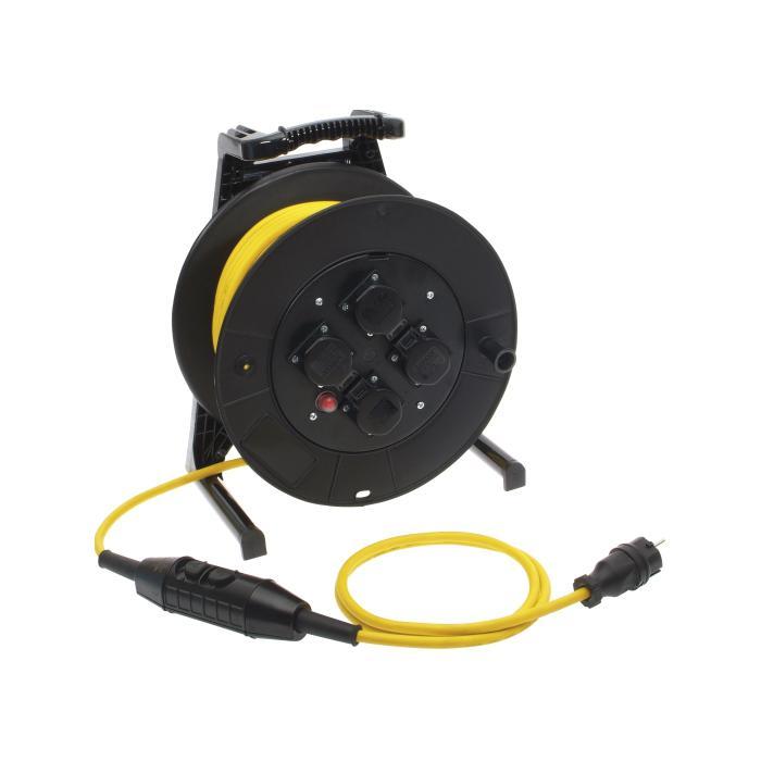 Kabeltrommel SIROX® PRCD-S Schutzverteiler - mit Personenschutzschalter - Nennspannung 230 V AC, 50 Hz - Nennstrom 16 A, 0,03 A