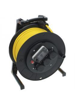 Kabelvinda JUMBO® - med jordfelsbrytare - 230 V - 16 A - 40 m