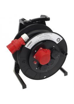 JUMBO® L CEE-Kabeltrommel - mit CEE- und Schukosteckdosen - Nennspannung 400 V - Nennstrom 16 A