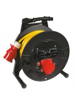 JUMBO® L CEE-Kabeltrommel mit PVC-Baustellenleitung - speziell für Österreich - Nennspannung 400 V - Nennstrom 16 A
