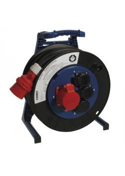 JUMBO® L CEE-Kabeltrommel - mit CEE- und Schutzkontaktsteckdosen - Nennspannung 400 V - Nennstrom 16 A
