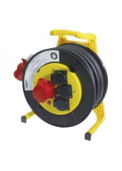 JUMBO® L CEE-Kabeltrommel - CEE- und Schukostecker - Nennspannung 400 V - Nennstrom 16 A