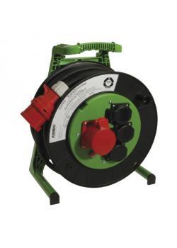JUMBO® L CEE-Kabeltrommel - mit CEE- und Schukosteckdose - Nennspannung 400 V - Nennstrom 16 A