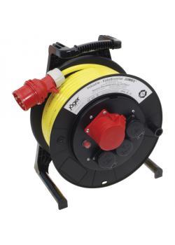 JUMBO® L CEE-Kabeltrommel mit PUR-Leitung - mit CEE- und Schukosteckdose - Nennspannung 400 V - Nennstrom 16 A