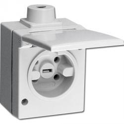 Perilex AP-FR-Steckdose - 3-polig - Nennspannung 230 / 400 V