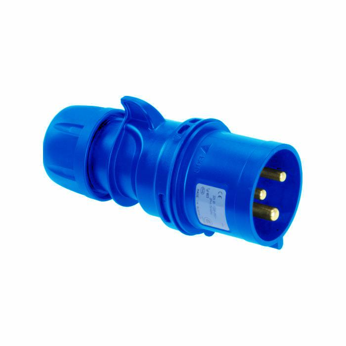 SIROX® CEE-Stecker - 3-polig - Nennspannung 230 V - Nennstrom 16 bzw. 32 A - Schutzart IP 44