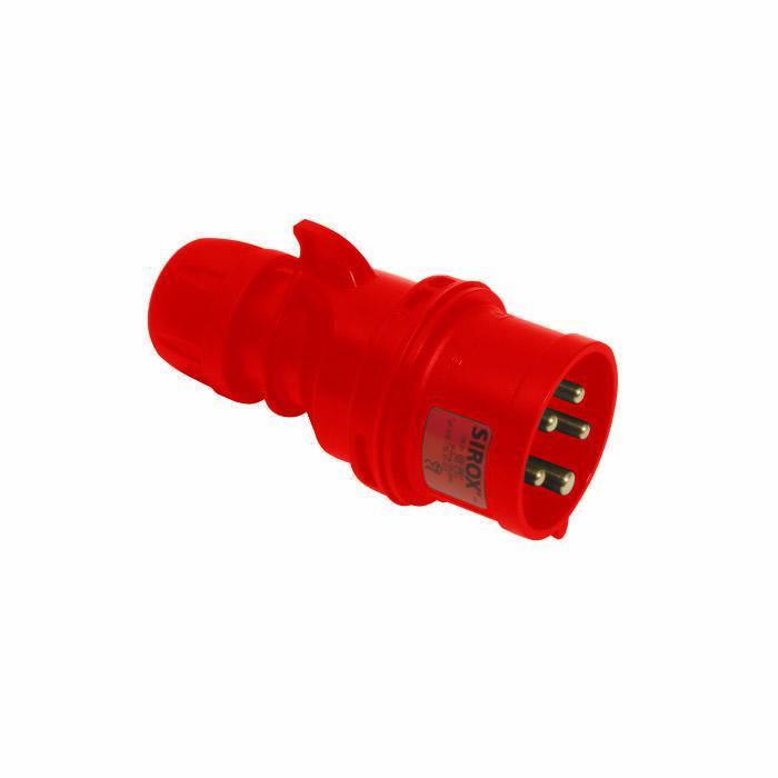 SIROX® CEE-Stecker - 5-polig - Nennspannung 400 V - Nennstrom 16 bis 32 A - Schutzart IP 44