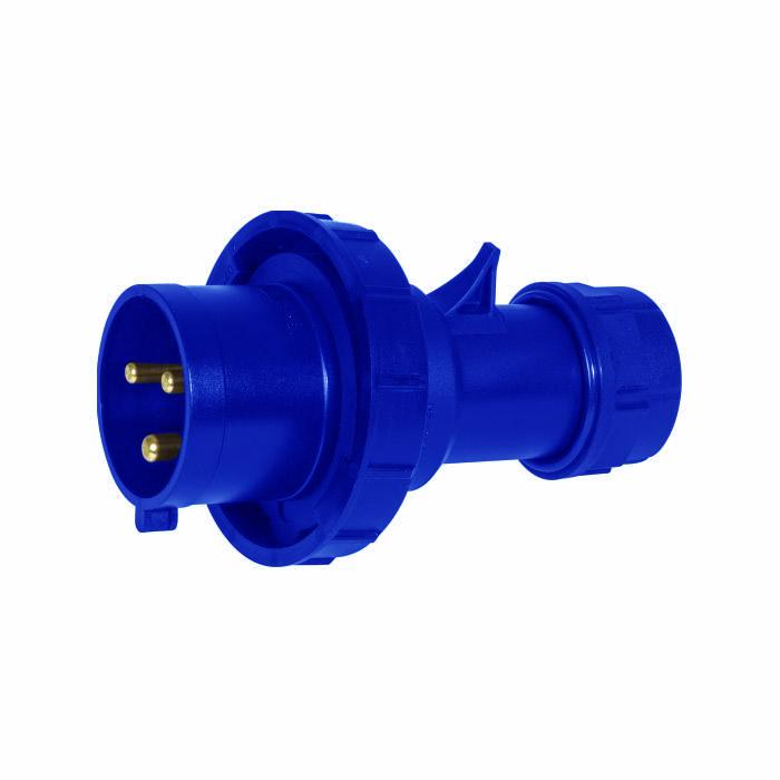 SIROX® CEE-Stecker - 3-polig - Nennspannung 230 V - Nennstrom 16 bzw. 32 A - Schutzart IP 67