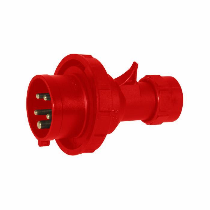 SIROX® CEE-Stecker - 5-polig - Nennspannung 400 V - Nennstrom 16 bis 125 A - Schutzart IP 67