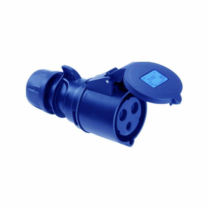 SIROX® CEE-Kupplung - 3-polig - Nennspannung 230 V - Nennstrom 16 bzw. 32 A - Schutzart IP 44